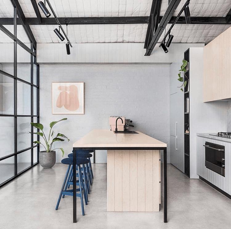 Biasol Design's warehouse kitchen